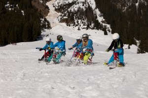 Spaß im Snowpark in Oberstdorf