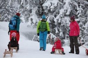 Familienspaß am Nebelhorn