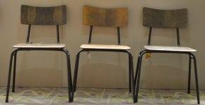 Stühle für das Hostel