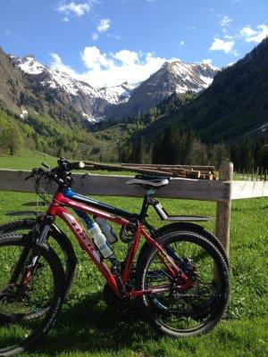 die Oberstdorfer Berge im Visier