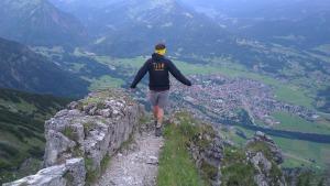 Fabian Am Gipfel