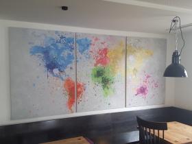 Die Welt als Farbklecks