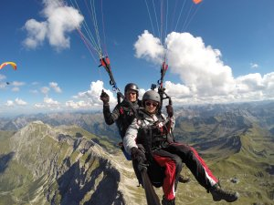 Tandemflug Nebelhorn: Oase Paragliding