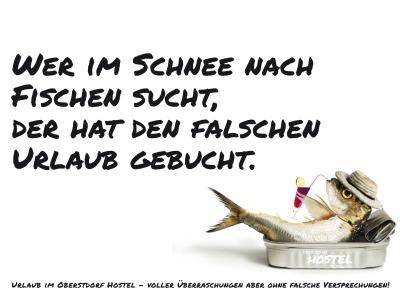 Von Fischen im Schnee...