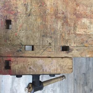 Alte Werkbänke zum Kochen wieder entdeckt
