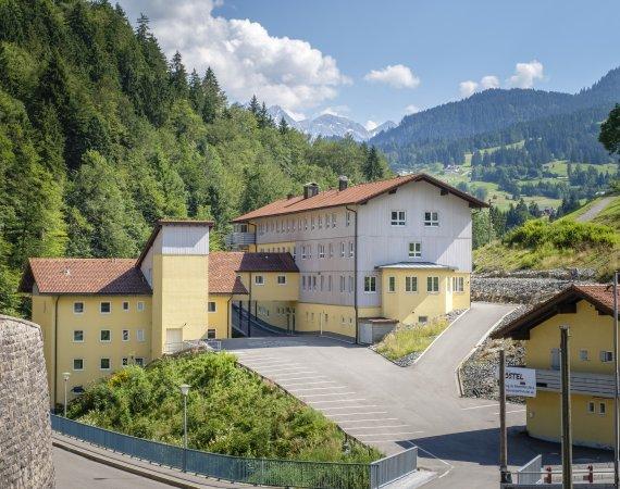 Oberstdorf Hostel in mitten der Allgäuer Berge!