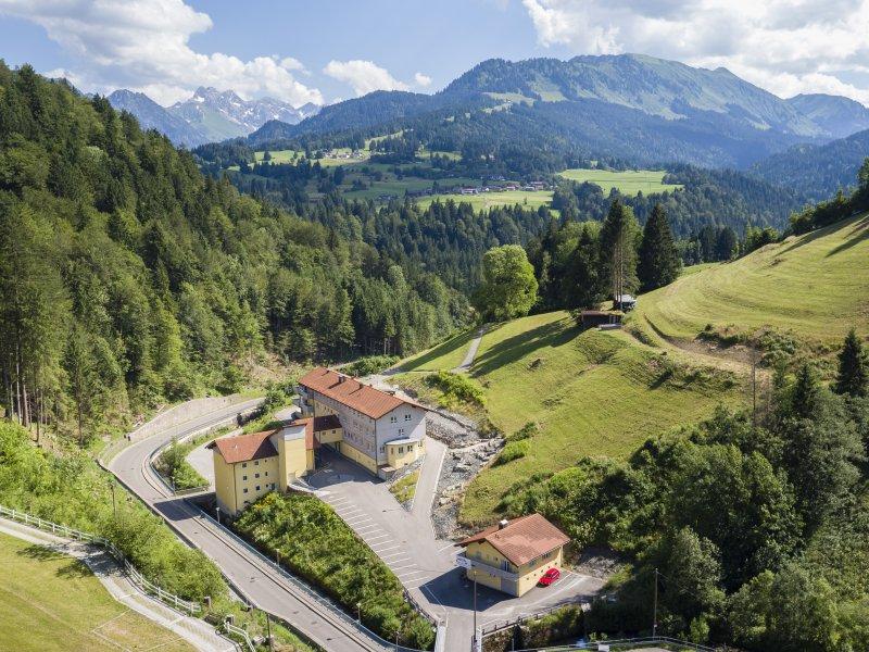 Inmitten der Allgäuer Alpen: das Oberstdorf Hostel