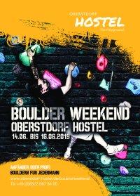 3. Boulder Weekende im Oberstdorf Hostel