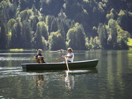 Bootfahren am Freibergsee