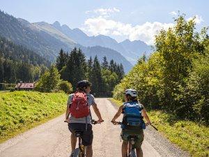 Mit dem Fahrrad nach Süden