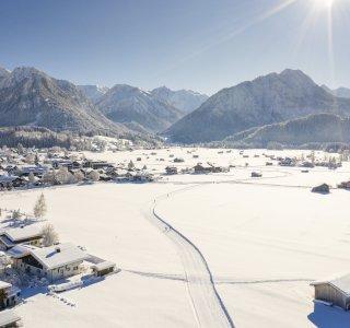 Der Oberstdorfer Rundkurs von oben
