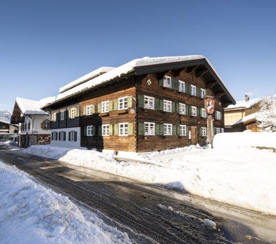 winterliches Heimatmuseum