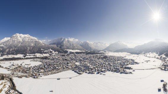 Winterpanorama Oberstdorf