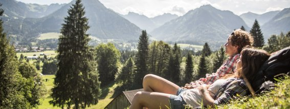 Entspannung in den Wiesen