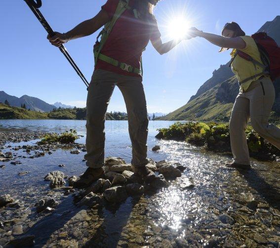 Wanderung um den Seealpsee