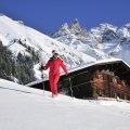 Winterwanderung durch den Schnee