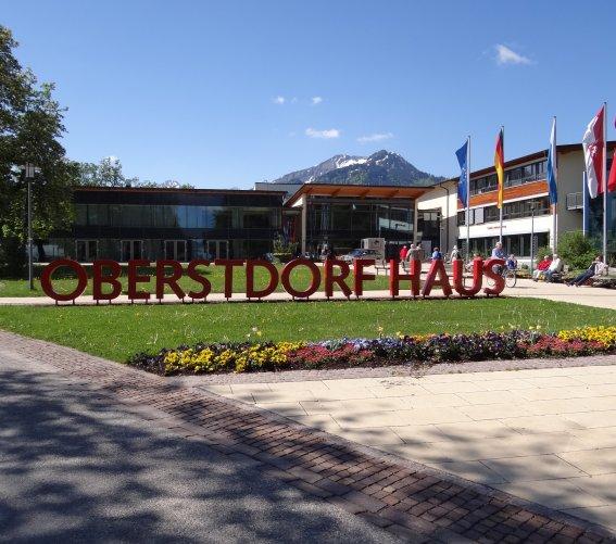 Oberstdorf Haus außen