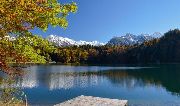 Freibergsee im Herbst