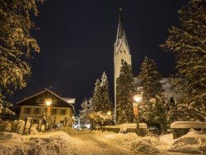 Kirche am Abend