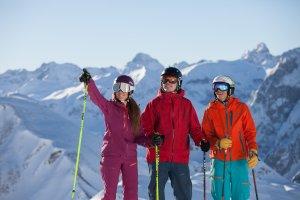 Skierlebnis am Nebelhorn