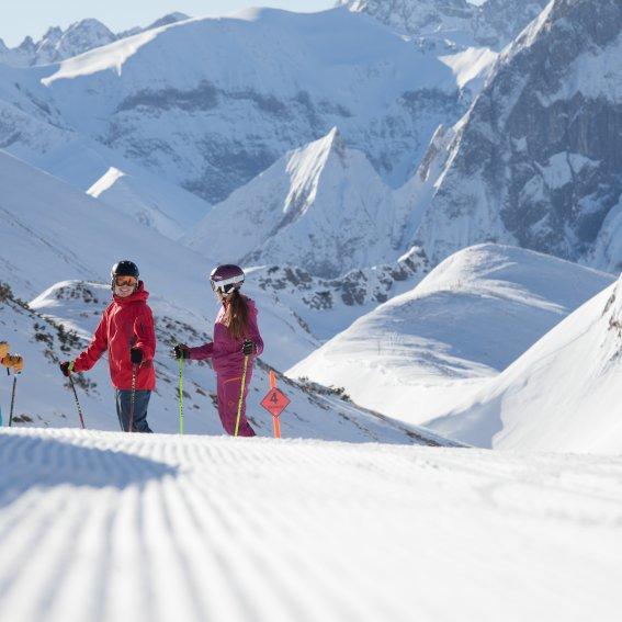 Skitag am Nebelhorn