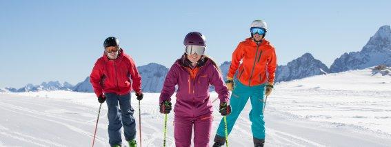 Skispaß am Nebelhorn