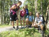 Natur entdecken in der Gruppe