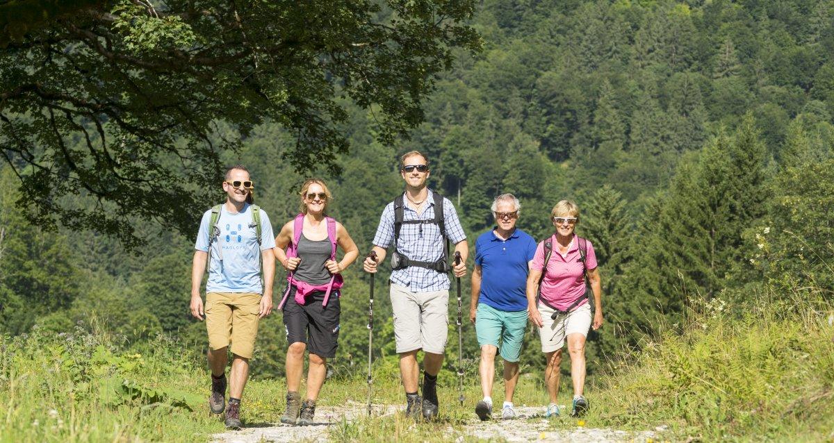 Gemeinsam Wandern
