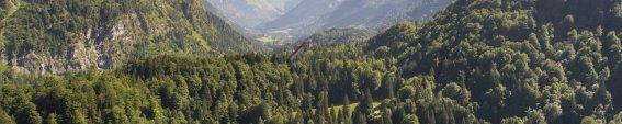 Freibergsee und Stillachtal - mit Blick auf die Skiflugschanze