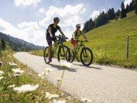 Mountainbiker im Lochbachtal