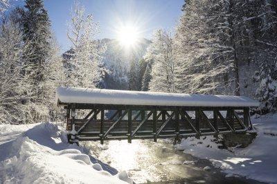 Brücke am Renksteg