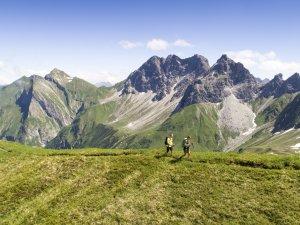Wandern vor traumhafter Kulisse