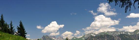 Wanderweg am Fellhorn