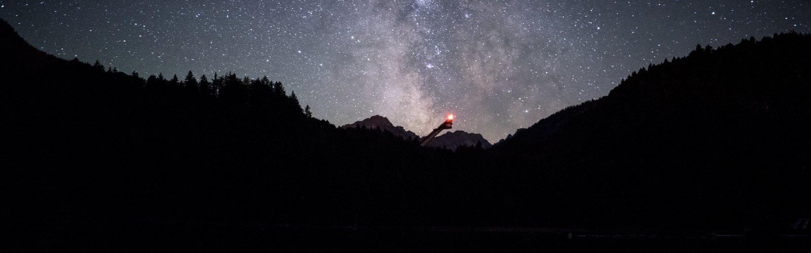 Freibergsee bei Nacht