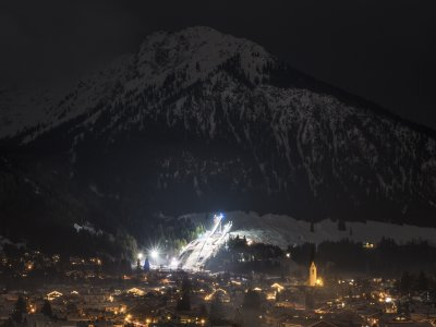 Vierschanzentournee in Oberstdorf