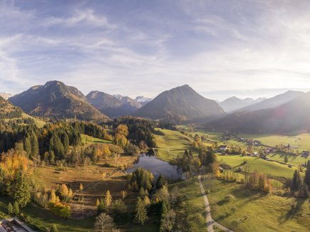 Panorama Aufnahme Oberstdorf
