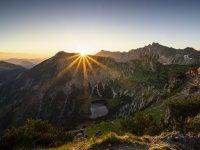 Sonnenaufgang vom Rubihorn