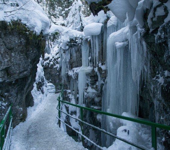 Wintermärchen Breitachklamm