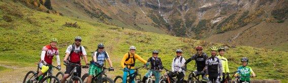 Tour mit den Alptraum Teamridern