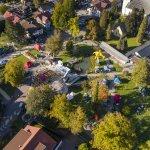 Drohnenaufnahme Festivalgelände