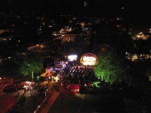 Panoramaaufnahme Festivalgelände