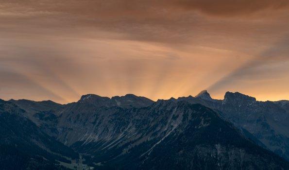Sonnenaufgangstour auf den Geißberg