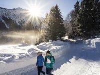 Winterwanderung nach Ringang