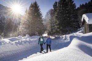 zu zweit im Winterwunderland