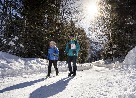 Winterwandern bei Ringang