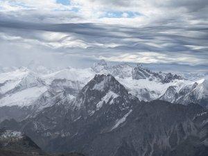 Blick vom Hindelanger Klettersteig