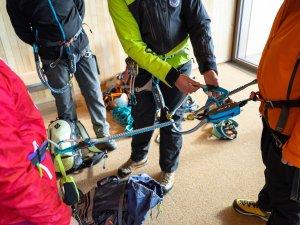 Klettersteig Einweisung vom Profi
