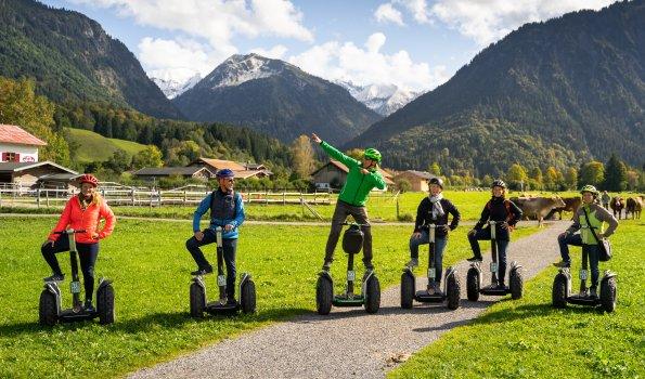 Segway-Tour durch Oberstdorf