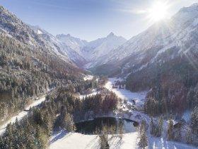 Winterlicher Christlessee