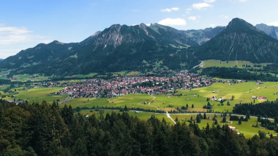 Sommerurlaub in Oberstdorf